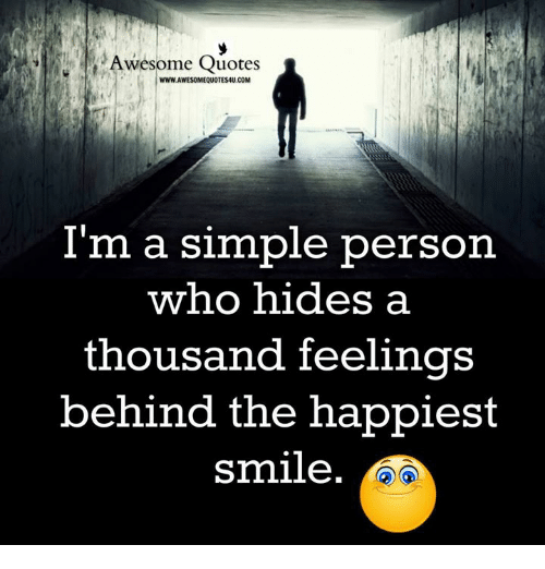 Awesome Quotes WWWAWESOMEQUOTES60UCOM I'm A Simple Person Who Hides A Gorgeous Simple Quotes