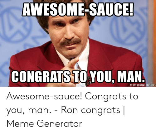 Awesome Sauce Meme