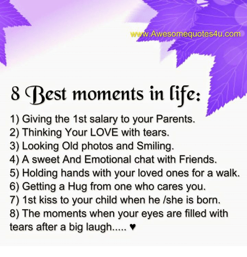 best moments with friends