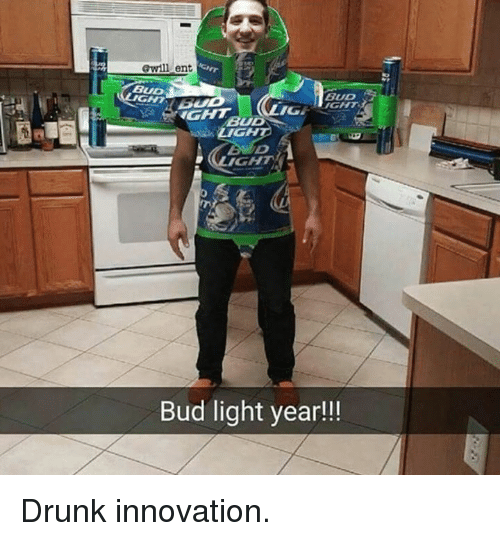 Memes, Bud Light, And 🤖: Awill Ent BUD IGHT BUD Bud Light Year