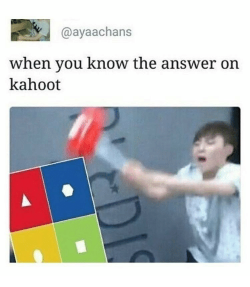 how to get every kahoot answer right