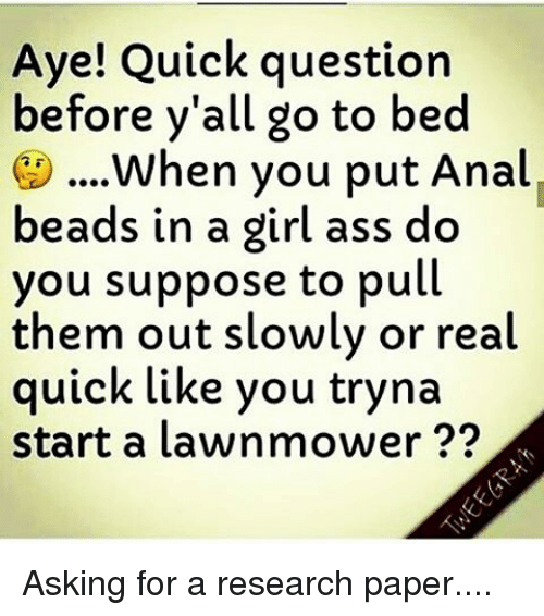 God knows! pull over that ass to fast understand