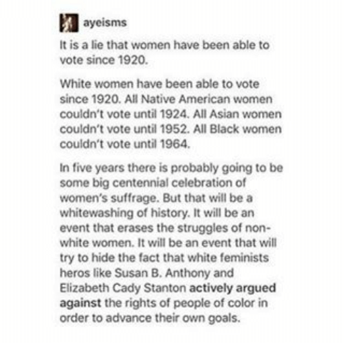 why couldn t women vote