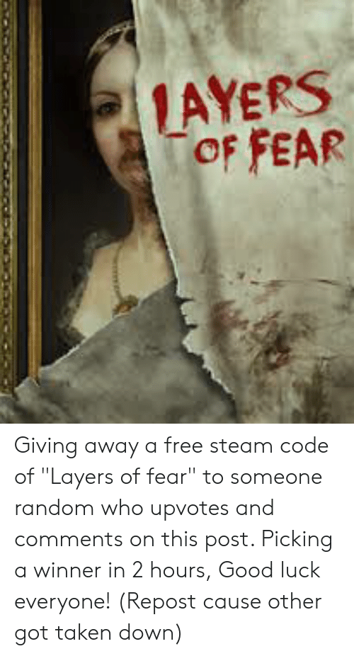 AYERS OF FEAR Giving Away a Free Steam Code of Layers of