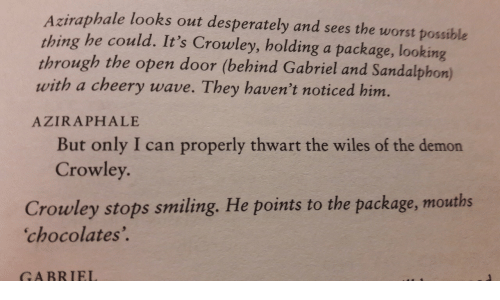 Aziraphale Looks Out Desperately and Sees the Worst Possible