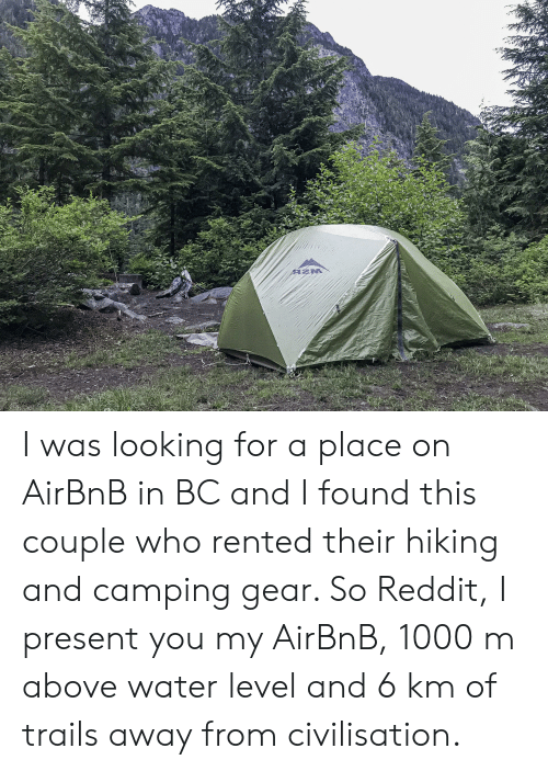 AZM I Was Looking for a Place on AirBnB in BC and I Found