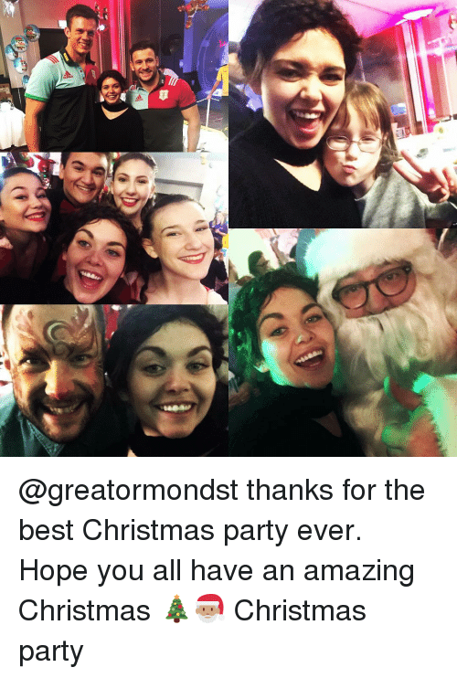 memes and christmas party b greatormondst thanks for the - The Best Christmas Party Ever