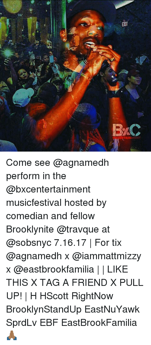 Memes, 🤖, and Hosted: B/C RTAINMENT Come see @agnamedh perform
