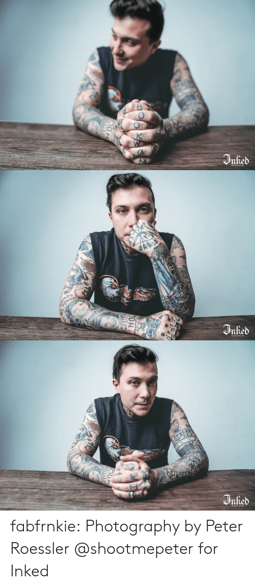 Future, News, and Tumblr: B  rked  OL   ALE  ter  Day  Kgelin  nked   Har  EOA  geFr  Irked  HOU fabfrnkie:    Photography by Peter Roessler @shootmepeter for Inked