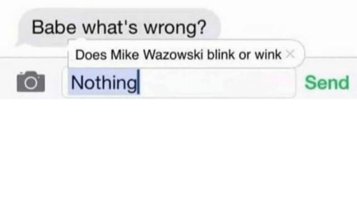 Whats a wink