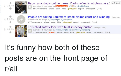 baby ruins dad s online game dad s reflex is wholesome af submitted