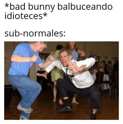 Bad, Bunny, and  Sub: *bad bunny balbuceando  idioteces*  sub-normales: