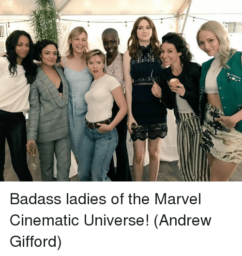 Memes, Marvel, and Badass: Badass ladies of the Marvel Cinematic Universe!  (Andrew Gifford)