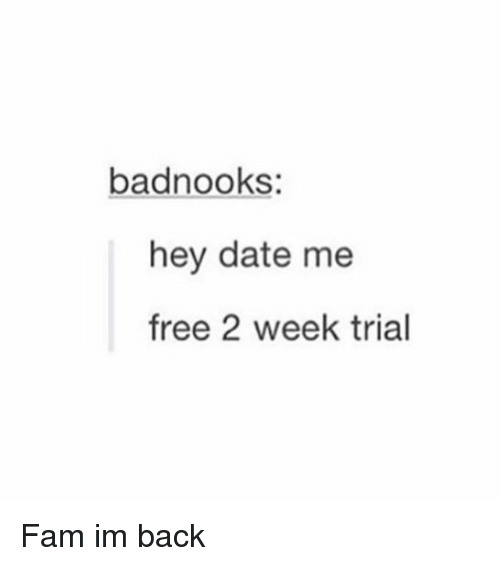 Free dating trials