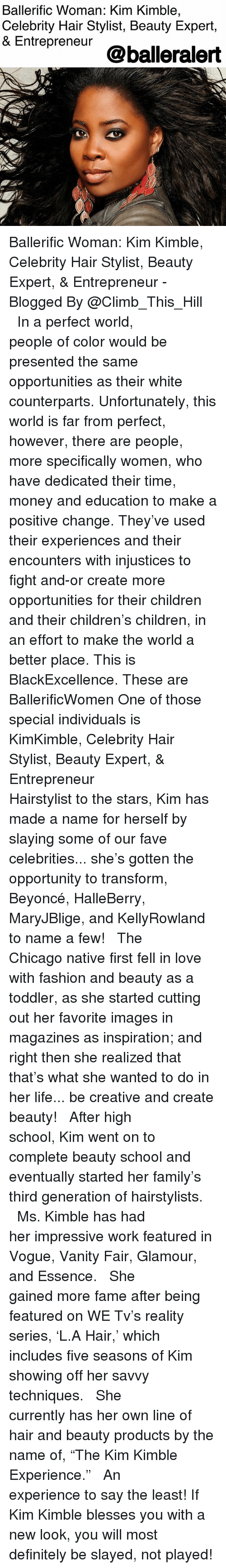 How old is celebrity hair stylist kim kimble