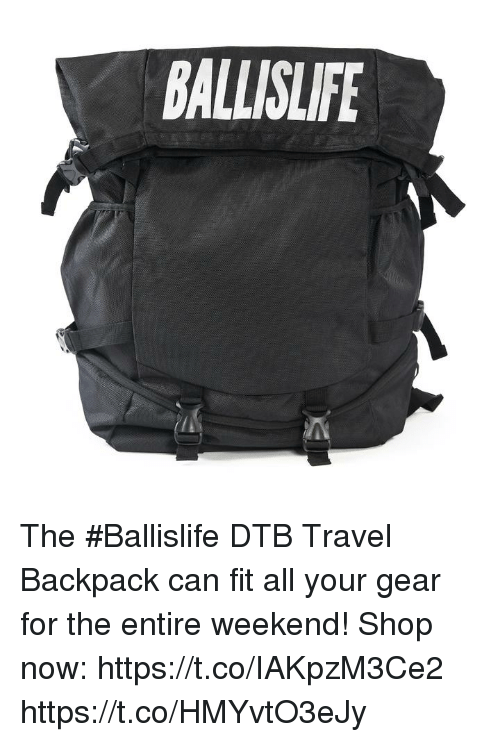 8fc98f22675f BALLISLIFE the  Ballislife DTB Travel Backpack Can Fit All Your Gear ...