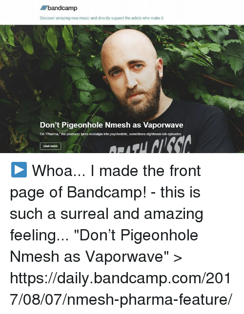 Bandcamp Discover Amazing New Music and Directly Support the