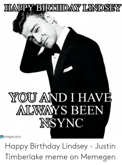 Bappy Birtbodalonidsey You And I Have Always Been Nsync Mamegancom