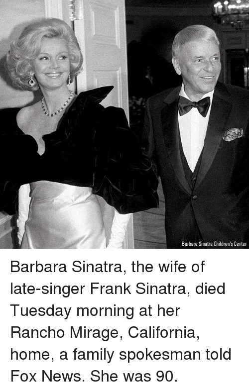 barbara sinatra childrens center barbara sinatra the wife of late singer 26087633 ✅ 25 best memes about frank sinatra frank sinatra memes