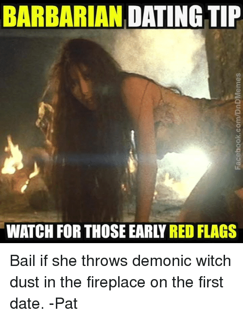 Red flags in early dating tips