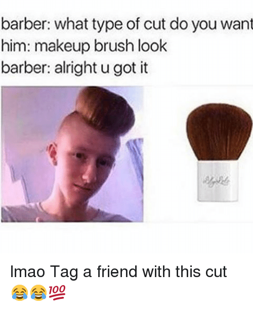 how to do a brush cut