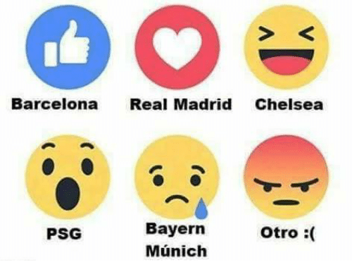 Barcelona Real Madrid Chelsea Bayern Otro Psg Munich Meme On Me Me
