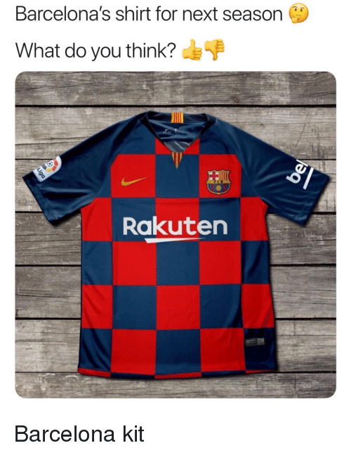 the latest 89d94 0d634 Barcelona's Shirt for Next Season What Do You Think?F ...