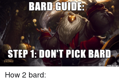 Bard build guide: [8. 22] the friendliest champ bard guide for.