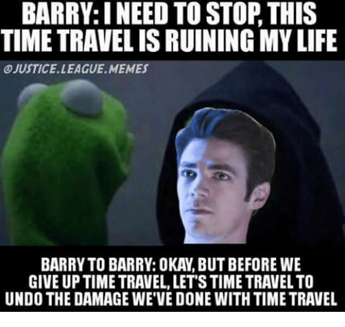 Love Each Other When Two Souls: BARRYINEED TO STOP THIS TIMETRAVELIS RUINING MY LIFE