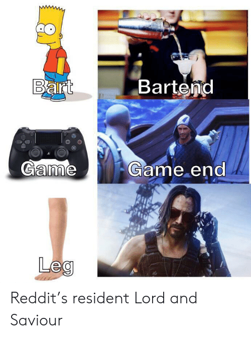 Bart Bartend Game Game End Leg Reddit's Resident Lord and
