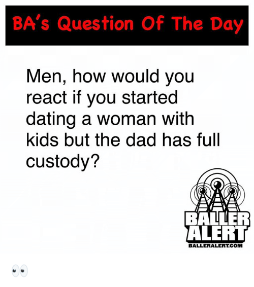 BA's Question of the Day Men How Would You React if You