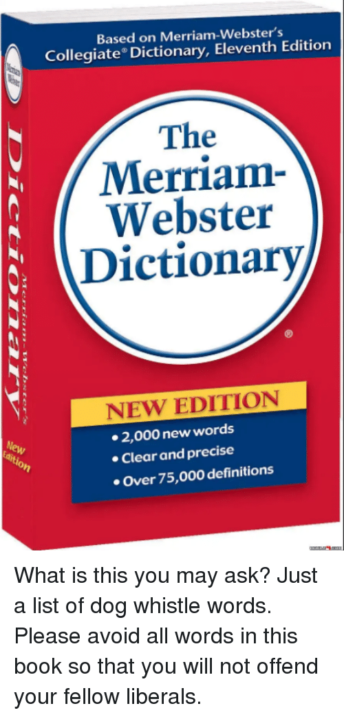 merriamwebsters collegiate dictionary