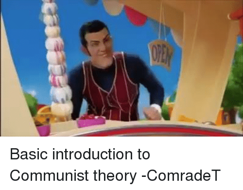 an introduction to communism Excerpts from the original introduction to animal farm the copyright of the book passed into the hands of the british communist party.