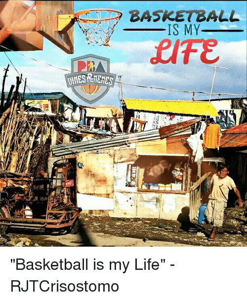 the importance of basketball in my life The increasingly important role of athletics in schools search the site go  or basketball very few realize that dream, but it does not mean that athletics.