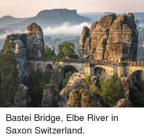 Switzerland, Saxon, and River