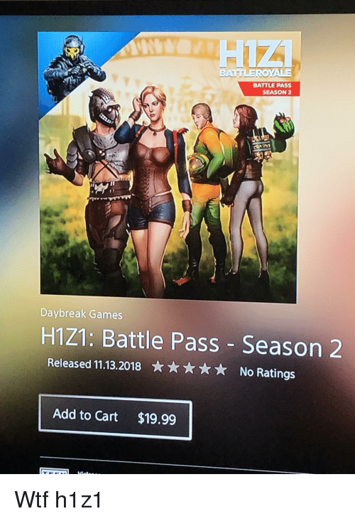 BATTLE PASS SEASON 2 Daybreak Games H121 Battle Pass Season