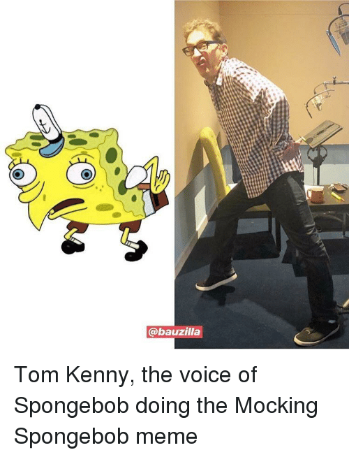 Meme, SpongeBob, and The Voice: @bauzilla