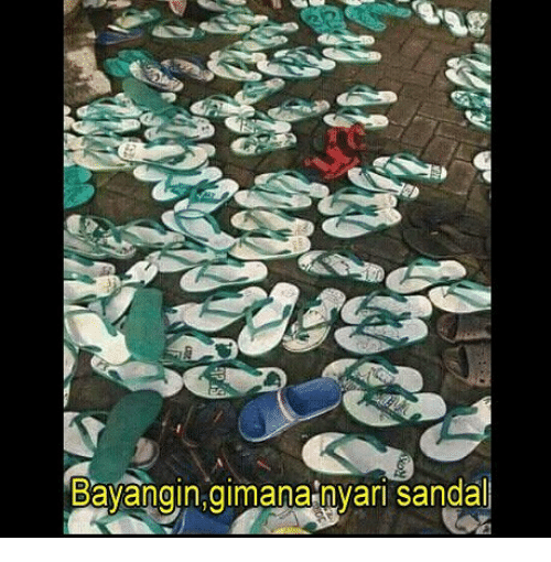 Indonesian (Language) and Sandal: Bavangin,gimana nvari sandal
