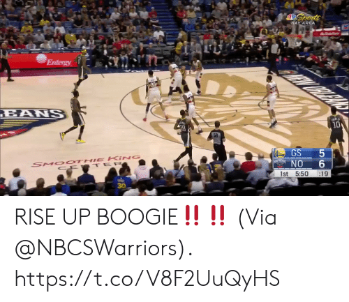 BAY AREA 10 58 GS 5 NO 6 1st 550 19 30 RISE UP BOOGIE