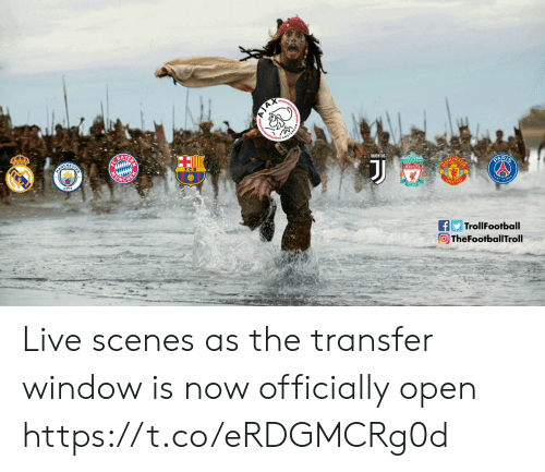 Memes, Live, and 🤖: BAY  HE  CHES  FC B  TrollFootball  TheFootballTroll Live scenes as the transfer window is now officially open https://t.co/eRDGMCRg0d