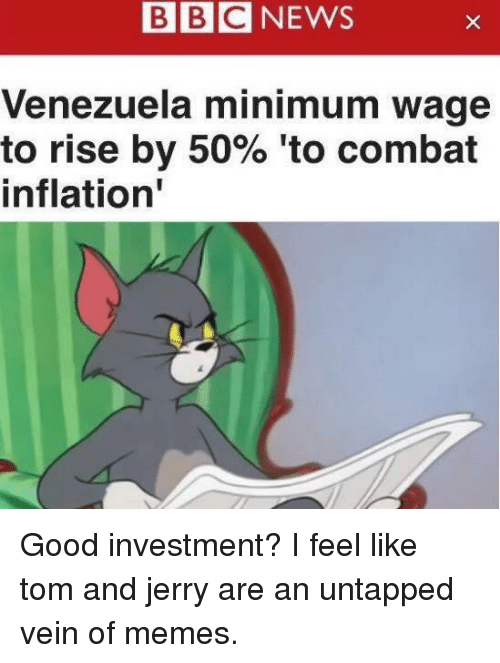 bbcnews venezuela minimum wage to rise by 50 to combat 25812867 bbcnews venezuela minimum wage to rise by 50% 'to combat inflation