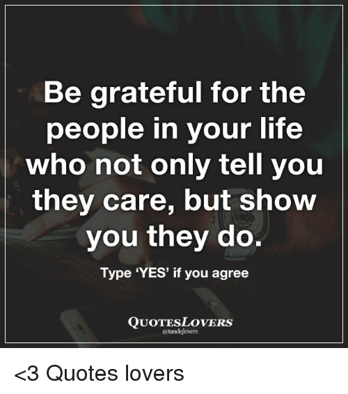 best ever quotes about being grateful for the people in your life
