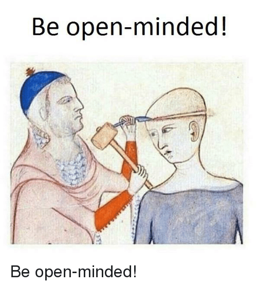 open minded in spanish