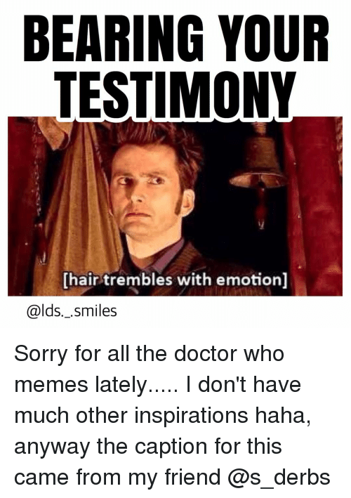 Doctor Who Meme