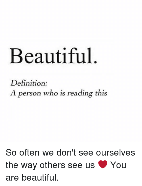 what is the definition for beautiful  - What Is Beauty?