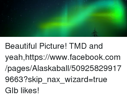 Beautiful Picture! TMD and