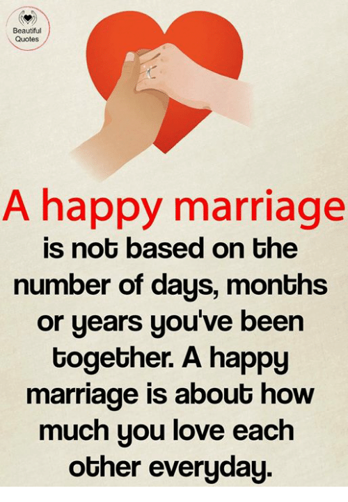 Image of: Inspirational Quotes Beautiful Love And Marriage Beautiful Quotes Happy Marriage Is Not Based On Quotespicturescom Beautiful Quotes Happy Marriage Is Not Based On The Number Of Days