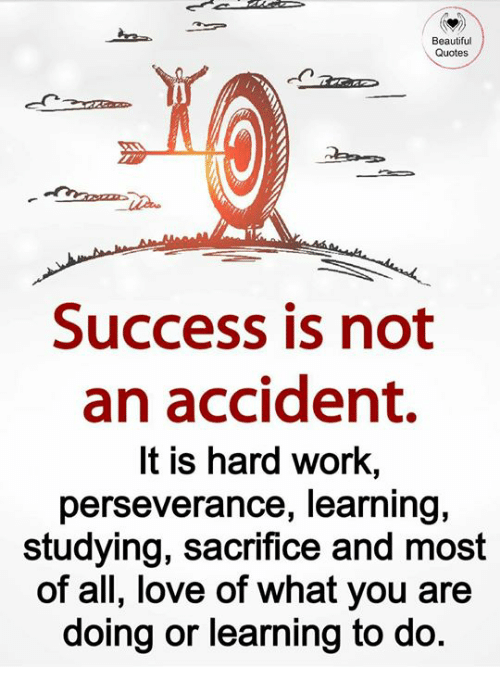 Beautiful Quotes Success Is Not An Accident It Is Hard Work Adorable Quotes About Success And Hard Work