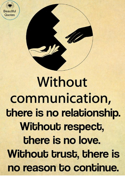 Beautiful Quotes Without Communication There Is No ...