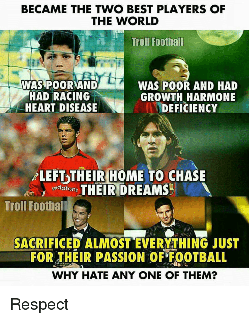 became the two best players of the world troll football 15707930 ✅ 25 best memes about memes memes, meme generator